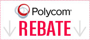 Polycom REBATE